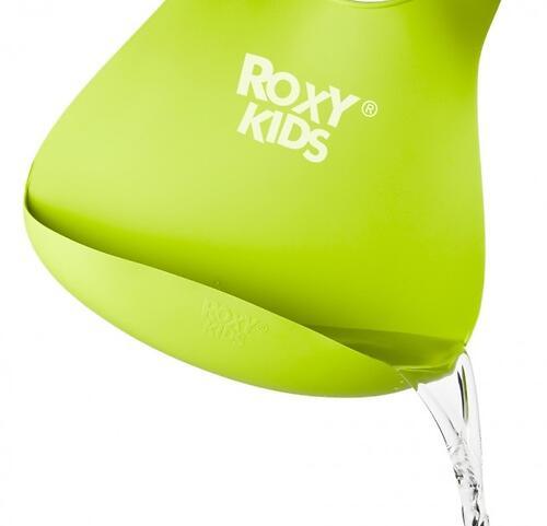 Нагрудник Roxy Kids мягкий с карманом для крошек RB-402G Зеленый (10)