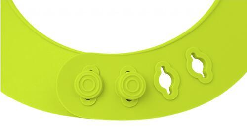 Нагрудник Roxy Kids мягкий с карманом для крошек RB-402G Зеленый (11)