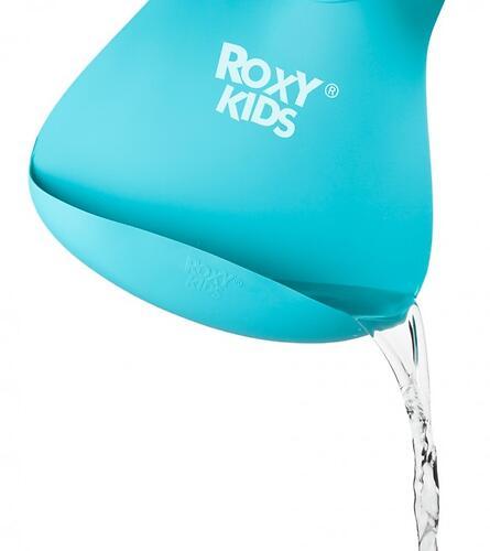 Нагрудник Roxy Kids мягкий с карманом для крошек RB-402M Мятный (10)