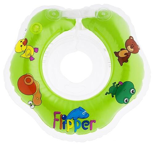 Круг на шею Roxy Kids Flipper для купания малышей 0+ Зеленый (6)