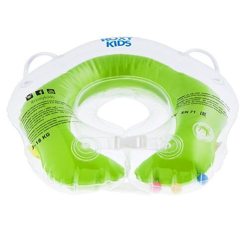 Круг на шею Roxy Kids Flipper для купания малышей 0+ Зеленый (7)