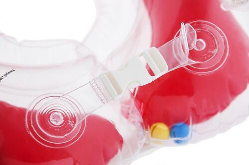Круг на шею Roxy Kids Flipper для купания малышей 0+ Красный (10)