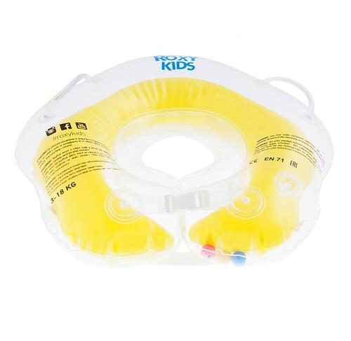 Круг на шею Roxy Kids Flipper для купания малышей 0+ Желтый (7)