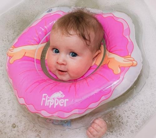 Круг на шею Roxy Kids Flipper для купания Балерина (11)