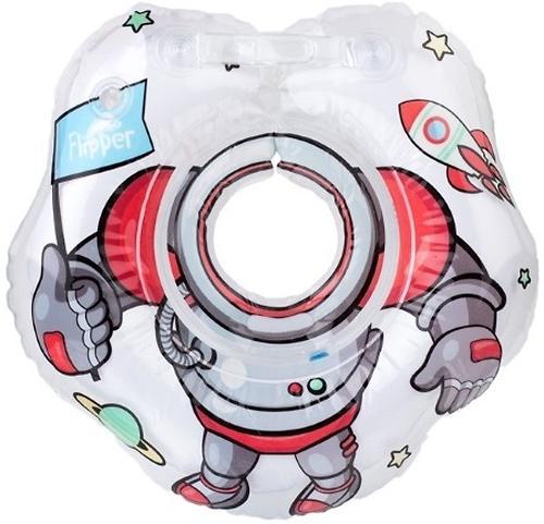 Круг на шею Roxy Kids Flipper для купания малышей Космонавт (3)
