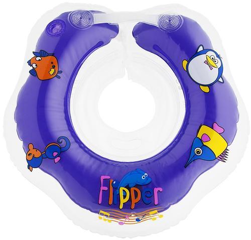 Круг на шею Roxy Kids Flipper музыкальный для купания (11)