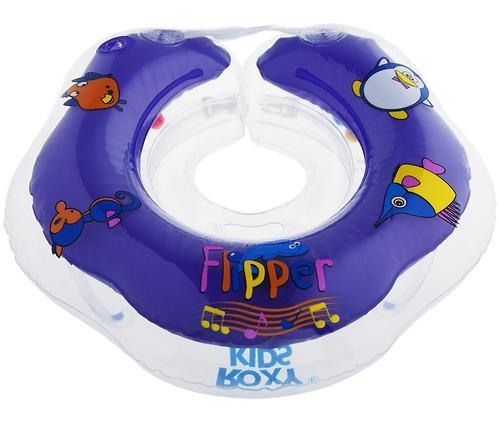 Круг на шею Roxy Kids Flipper музыкальный для купания (12)