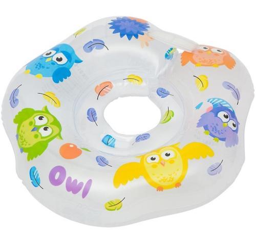 Надувной круг на шею Roxy Kids для купания малышей Owl (6)