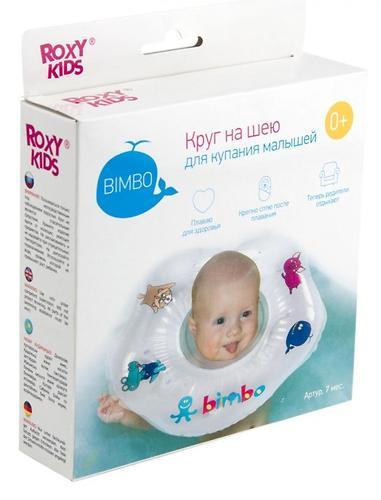 Надувной круг на шею Roxy Kids для купания малышей Bimbo (10)