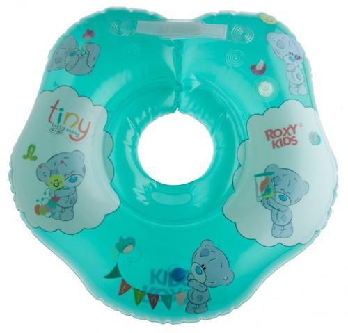Надувной круг на шею Roxy Kids для купания малышей Teddy Friends (7)