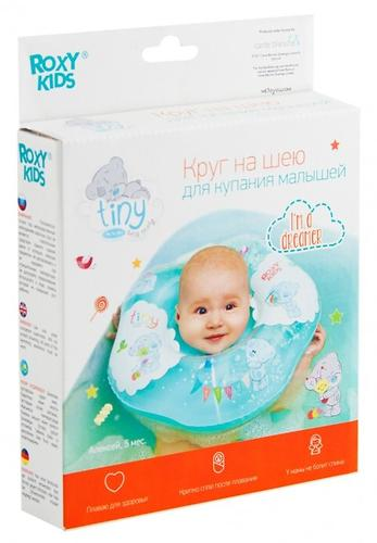 Надувной круг на шею Roxy Kids для купания малышей Teddy Friends (11)
