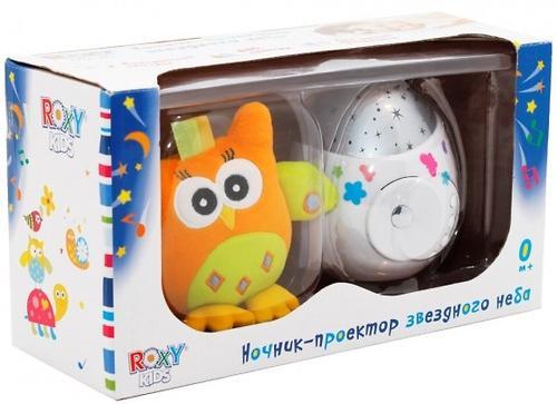 Проектор звездного неба Roxy Kids COLIBRI с совой в подарок (9)