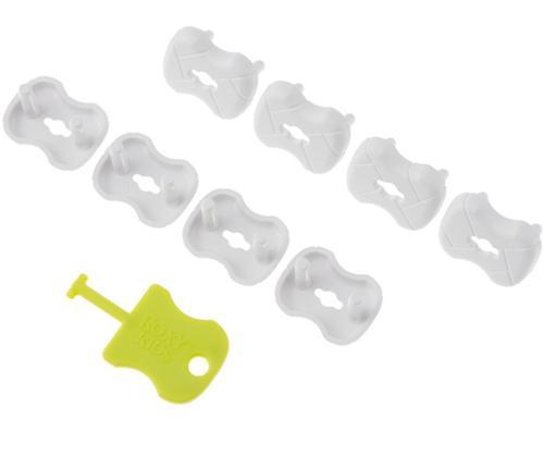 Набор заглушек Roxy Kids для розеток Белые 8 шт/уп (7)