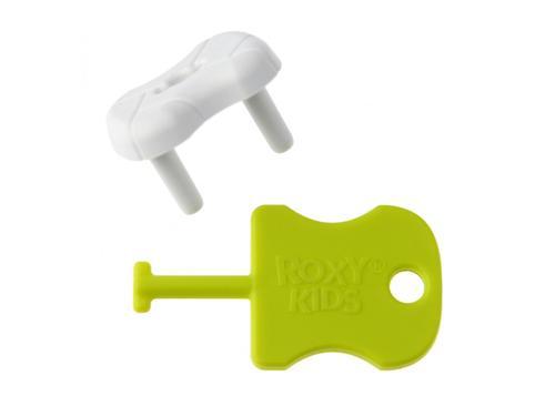 Набор заглушек Roxy Kids для розеток Белые 8 шт/уп (8)