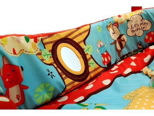 Развивающий коврик Roxy Kids Лисичка и ее друзья с бортиками (12)
