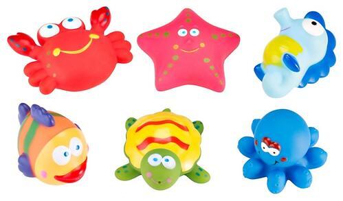 Набор игрушек Roxy Kids для ванной Морские обитатели 6 игрушек (4)
