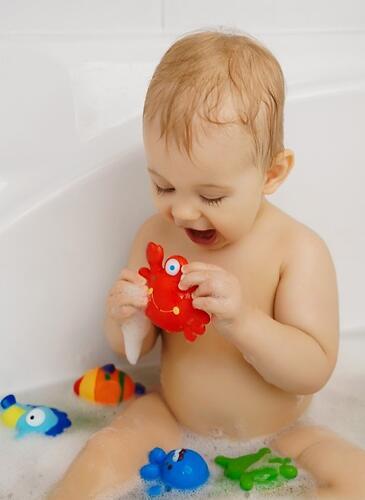 Набор игрушек Roxy Kids для ванной Морские обитатели 6 игрушек (6)