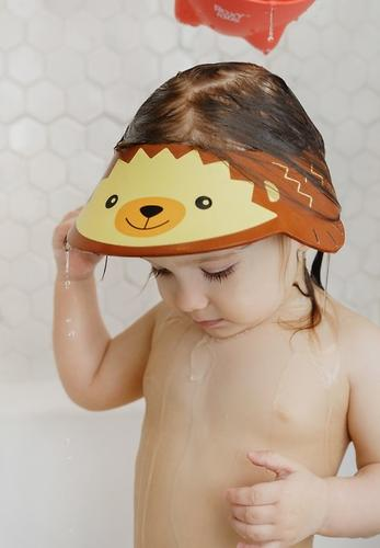 Козырек Roxy Kids для мытья головы Коричневый Ёжик (9)