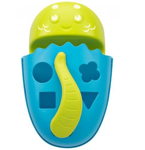 Органайзер-сортер Roxy Kids Dino с полочкой для хранения игрушек и банных принадлежностей Голубой (13)