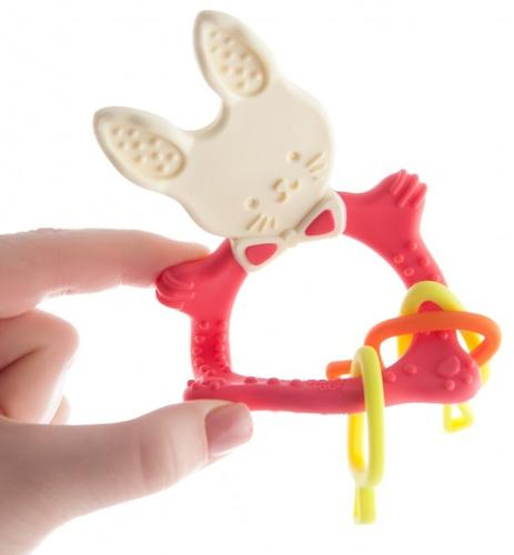 Прорезыватель универсальный Roxy Kids Bunny Коралловый (9)