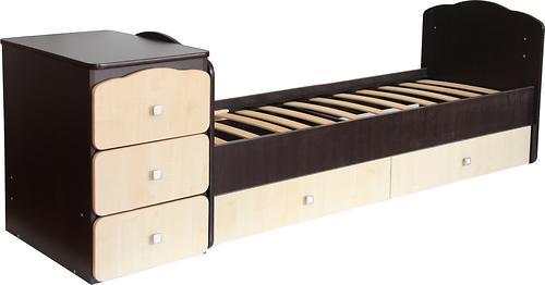 Уценка! Кроватка детская Фея 2100 Венге-клен (6)