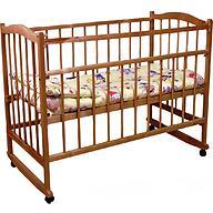 Кроватка детская Фея 204 Орех