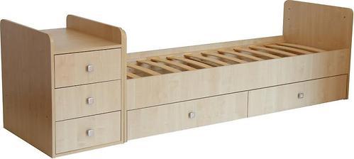 Кроватка детская Фея 1100 Клен (8)