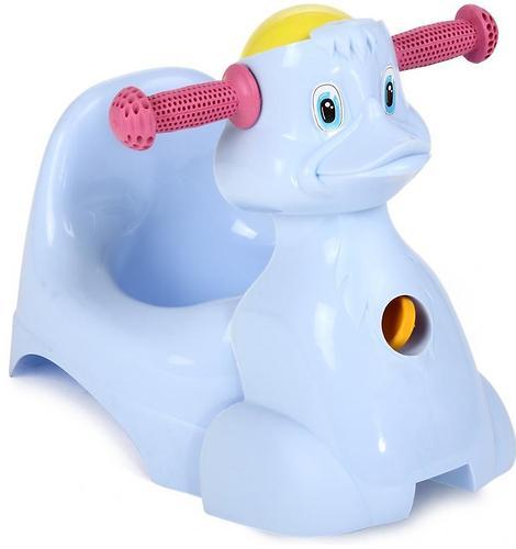 Горшок-игрушка Уточка Голубой (1)