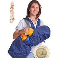 Кенгуру-рюкзак Чудо-Чадо Baby Active Luxe Синий