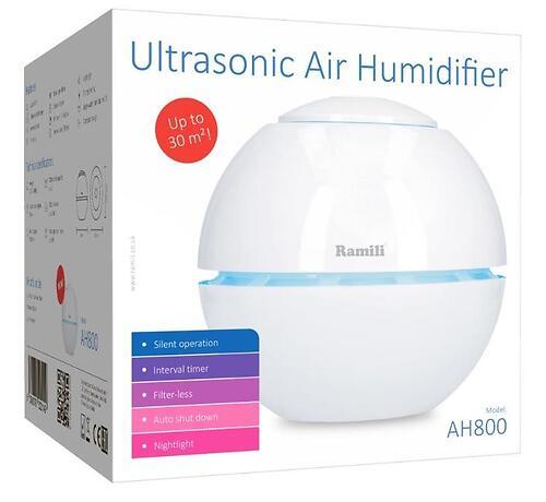 Ультразвуковой увлажнитель воздуха для детской Ramili Baby AH800 (10)