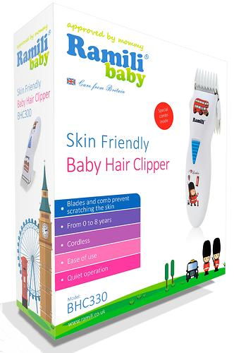 Машинка для стрижки Ramili Baby Hair Clipper BHC330 (6)