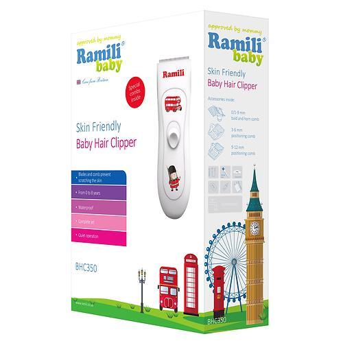 Машинка для стрижки Ramili Baby Hair Clipper BHC350 (4)