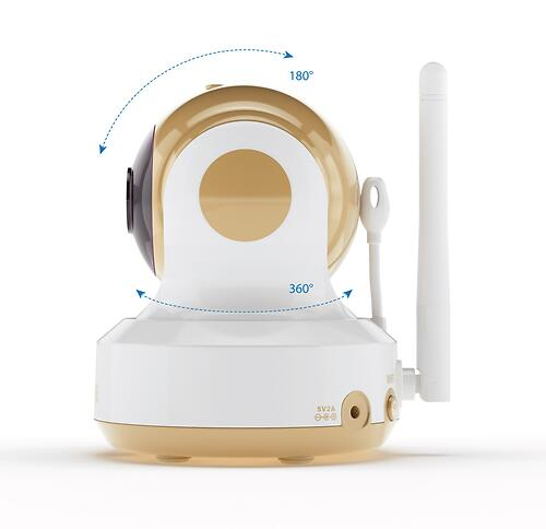 Дополнительная камера для видеоняни Ramili Baby RV1500C (4)