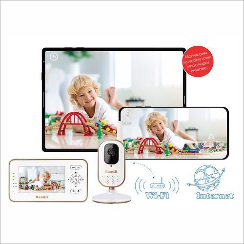 Видеоняня Ramili Baby RV350 с монитором дыхания BabySense 7 Plus (8)