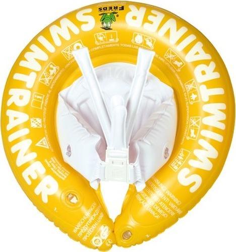 Надувной круг для плавания Swimtrainer желтый от 4 до 8 лет (4)
