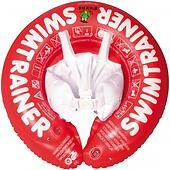 Надувной круг для плавания Swimtrainer красный от 3 мес. до 4 лет