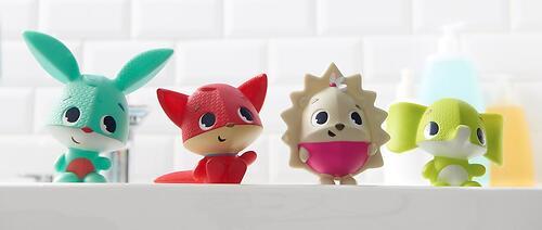 Набор игрушек пищалок Tiny Love для ванны (3)