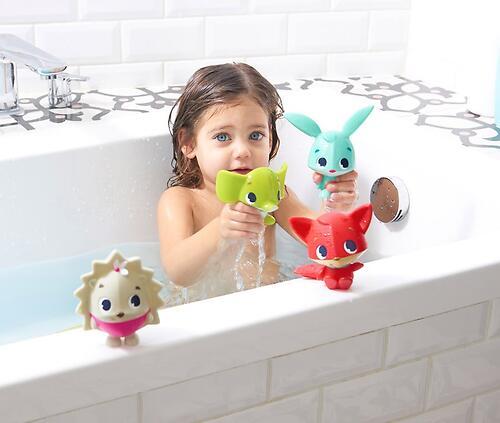 Набор игрушек пищалок Tiny Love для ванны (4)