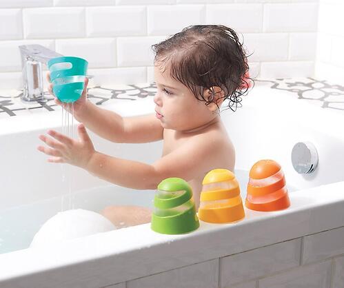 Набор игрушек стаканчиков Tiny Love для ванны (5)