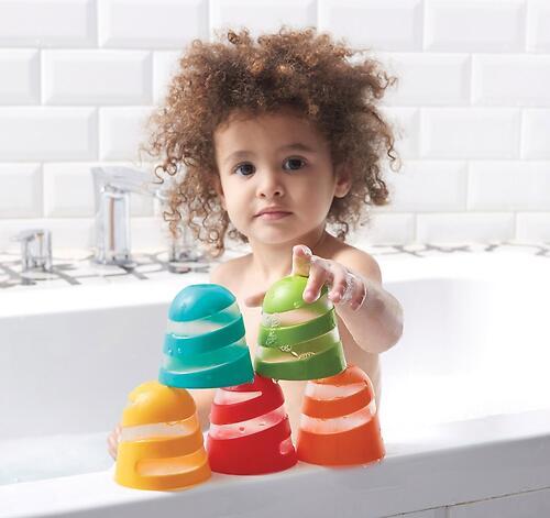 Набор игрушек стаканчиков Tiny Love для ванны (6)