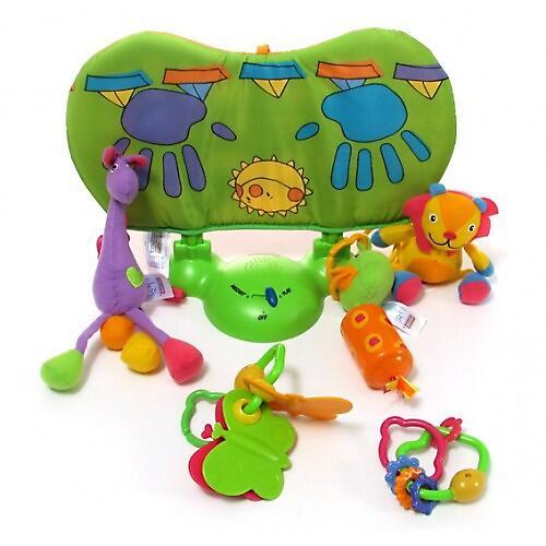 Коврик Tiny Love музыкальный с игровой подушечкой Зоосад (11)