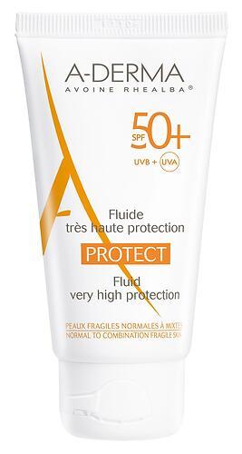 Флюид A-DERMA Protect для нормальной и комбинированной кожи SPF50+ 40 мл (1)