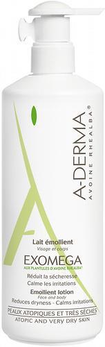 Лосьон A-DERMA Exomega для очень сухой или атопичной кожи 400мл (1)