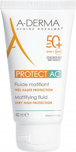 Флюид A-DERMA AC Protect для жирной кожи SPF50+ 40 мл (1)