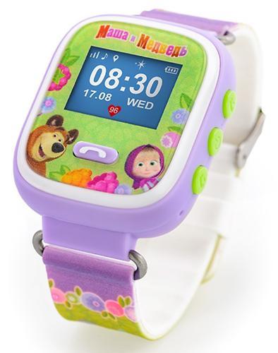 Часы-Телефон AGU с GPS трекером Маша и Медведь (5)