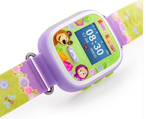 Часы-Телефон AGU с GPS трекером Маша и Медведь (6)
