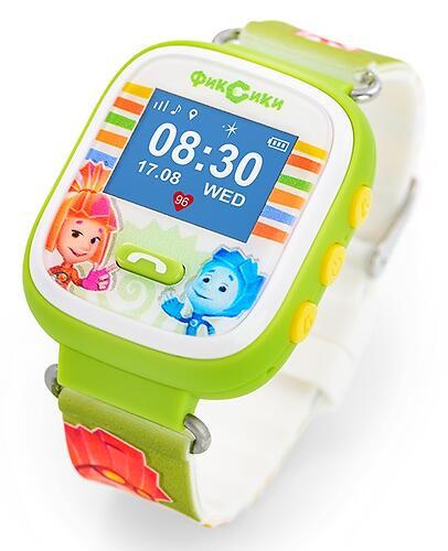 Часы-Телефон AGU с GPS трекером Фиксики (6)