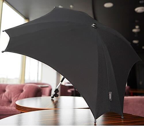 Зонт для коляски Anex черный (3)