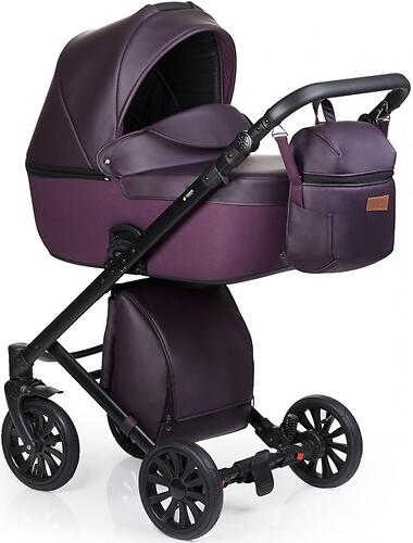 Коляска 3в1 Anex Cross Dark Plum (8)
