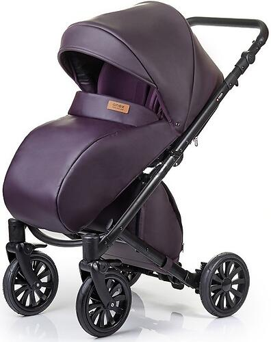 Коляска 2в1 Anex Cross Dark Plum (8)